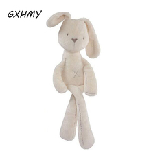 GXHMY 2017 Cute Baby Soft Plush Toys Brinquedos Plush Rabbit Bunny Sleeping Mate Stuffed & Plush Animals