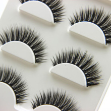 3 Pairs Natural Long 3D False Eyelashes Handmade Makeup Beauty Thick Fake Eye Lashes Extension Tools(China)