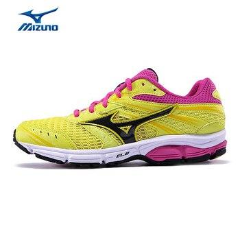 MIZUNO Mujeres WAVE RALLADURA de Peso Ligero de Malla Transpirable Amortiguación Jogging Running Shoes Sneakers Zapatos Deportivos J1GL159888 XYP301