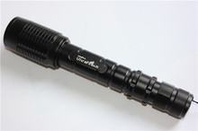 LED Flash torch light High powerful 5000 lumen lantern XML-T6 Big LED Tactical Police Torch Flashlight WZ98(China)