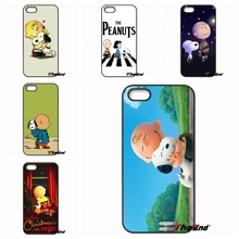 CHARLIE BROWN PEANUTS BEATLES fashion Phone cover For Motorola Moto E E2 E3 G G2 G3 G4 PLUS X2 Play Style Blackberry Q10 Z10