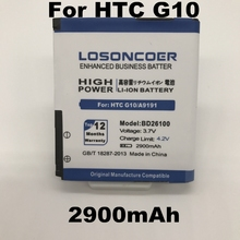LOSONCOER 2900mAh BD26100 Use for HTC G10 battery A9191 Desire HD Surround T8788 T9188 T9199 Tianxi HuaShan myTouch HD phone