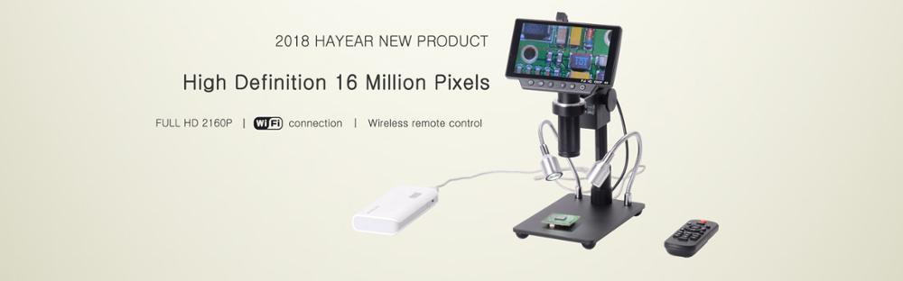 16MP_2160P_HDMI_USB_WIFI_Digital_Microscope_Camera