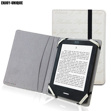 Leather case cover for Amazon kindle paperwhite 6 inch ebook reader universal cover(China)