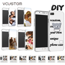 vcustom ring holder custom your high clear text logo picture design diy hard case for diy blackberry z3 case(China)