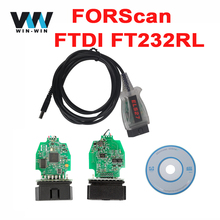 For Ford / Mazda ELS27 FORScan Scanner OBD OBD2 Diagnostic Cable ELS27 with FTDI FT232RL Chip For Lincoln For Mercury(China)