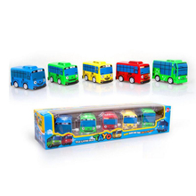 Wind up toy  Scale Model car tayo children miniature bus mini plastic babies   tayo bus toys for children