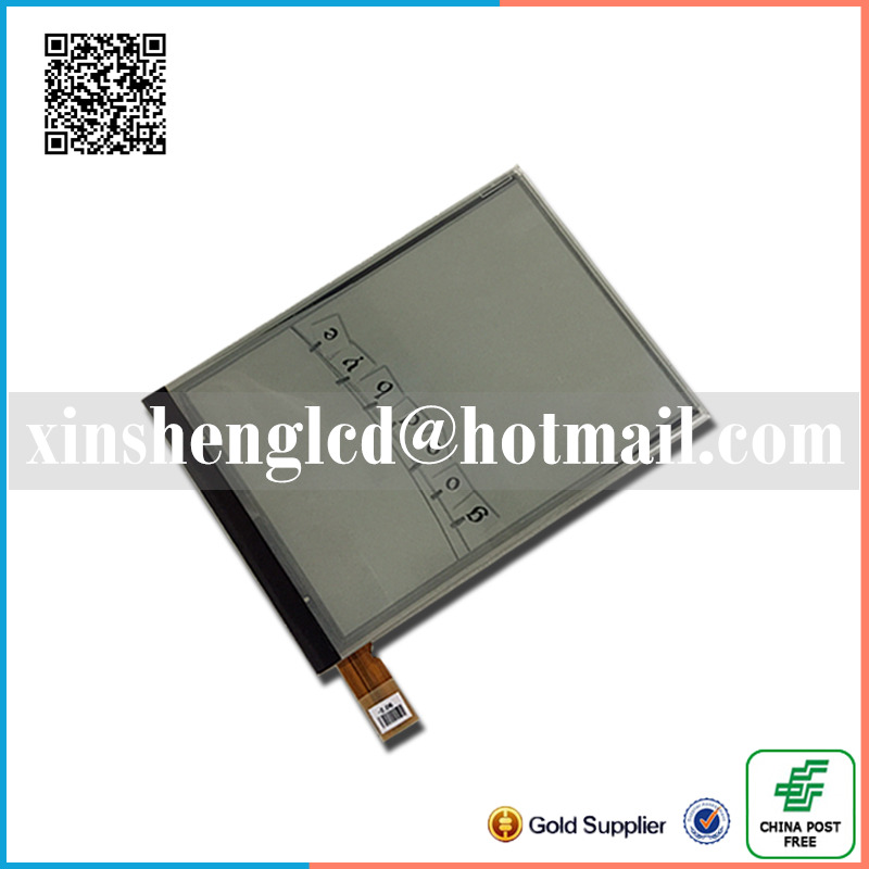 6inch lcd display matrix with light For Qumo Libro Lux II e-book Free shipping<br>