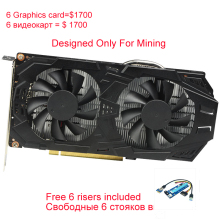 COLORFUL GeForce GTX1060 WK2 Mining Graphic Card Samsung Memory 1506-1708MHz Video Card 2 Fans 1060 6G Hash Rate Bitcoin(China)
