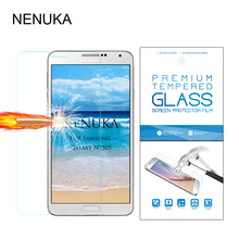 Tempered Glass Sreen Protector For Samsung Galaxy Note3 Neo N7505 Toughened protective film For Galaxy note 3 Neo+Retail packing(China)