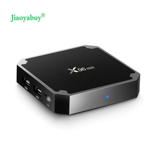 jiaoyabuy X96mini Android TV BOX 1GB 8GB/2GB16GB Amlogic S905W Quad Core Suppot 2.4GHz WiFi 4k Media Player Set-top Boxes