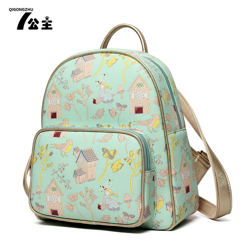 2017 New Summer Transparent Backpacks Cute Cartoon School Backpack Shoulder Bags For Teenager Girls Book Bag SMYQGZ-A0010<br>