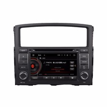"Quad Core 2 din 7"" Android 5.1 Car DVD Player for Mitsubishi Pajero V97 V93 2006-2015 With GPS 3G/WIFI BT IPOD TV Radio /RDS USB(China)"