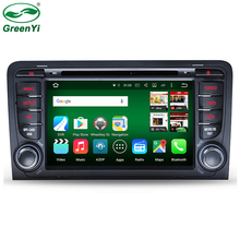 "2 Din 7"" 1024x600 8 Octa Core 2GB/32GB Android 6.0.1 PC Car DVD GPS For Audi A3 S3 2002-2011 With Stereo Radio WiFi 4G OBD DVR"