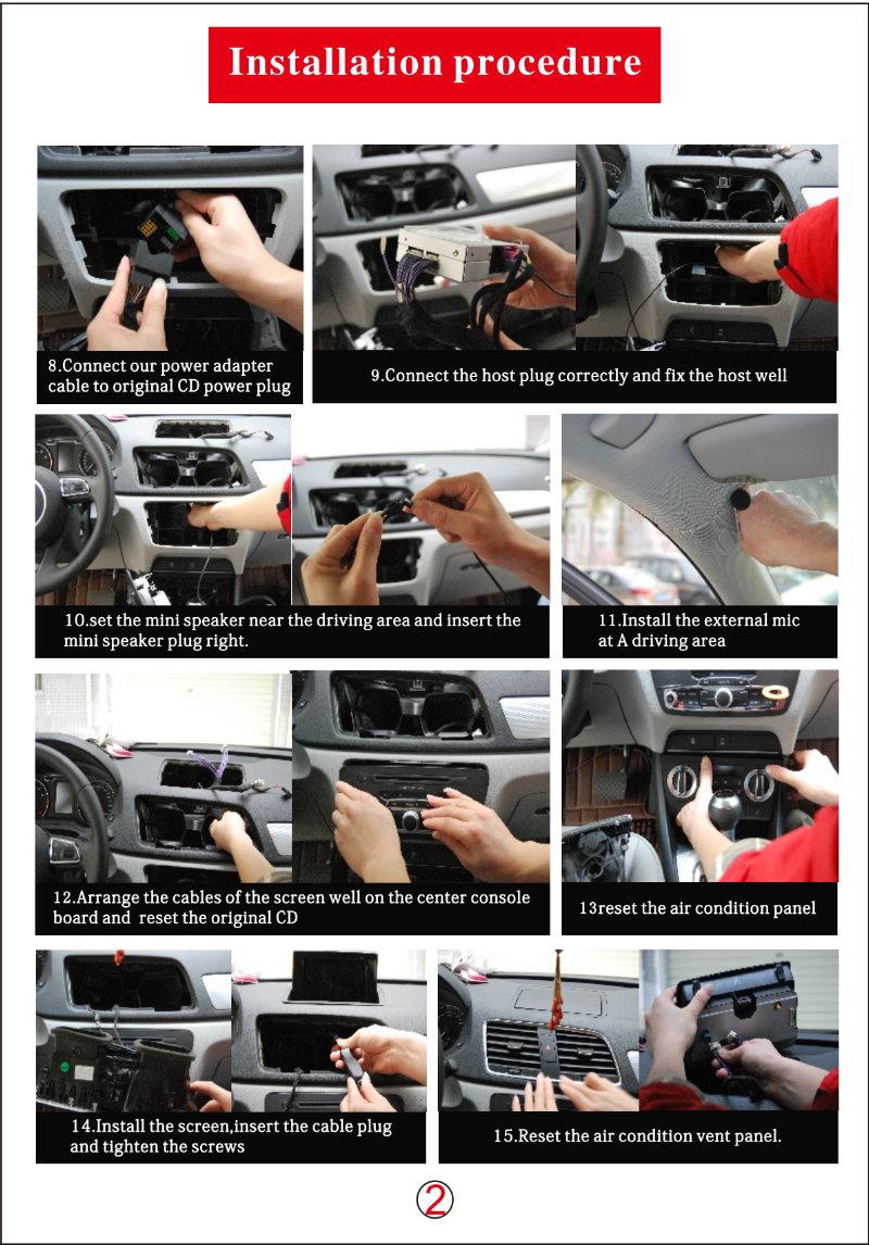 For Audi Q3 2011-g