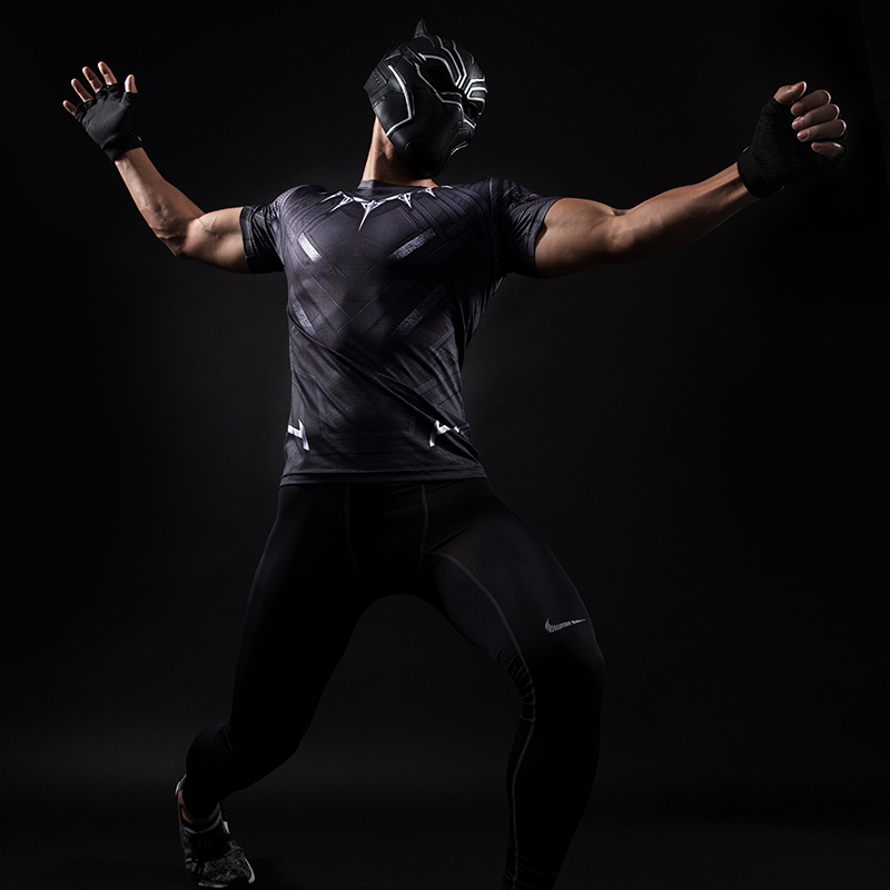 MMA Short Sleeve 3D T Shirt Men T-Shirt Crossfit Tops Punisher Crossfit Funny Superman tshirt Fitness Compression Shirt Tee 4XL 38