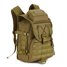 40L Waterproof Molle Backpacks Military 3P Tactics Backpack Assault Nylon Travel Bag for Men Women M108