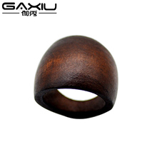Wood Rings For Men Women Secret Nature Punk Handmade Houten Wooden Ring Jewellery Fashion Jewelry Wedding Christmas Gift Anel(China)