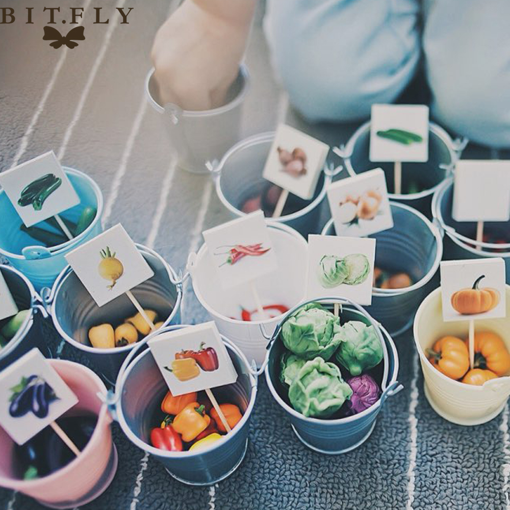 10pcs Heart Mini Metal Bucket Candy Box Buckets for diy Wedding Party Souvenirs fruit Gift Packaging Pails creative Gift holders(China (Mainland))