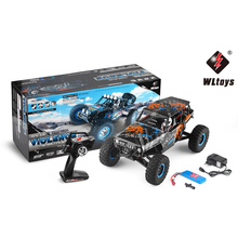 Buy New WLTOYS 10428-A2 RC Car 1/10 4WD 2.4G Electric Rock Climbing Vehicle Remote Control Racing Car Bigfoot Off-Road Toys Kids for $124.02 in AliExpress store