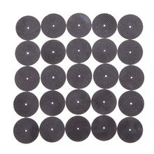 Promotion!!! 25Pcs Metal Cutting Disc for Dremel Grinder Rotary Circular Saw Blade Dremel Cutting Sanding Disc Grinding Wheel(China)