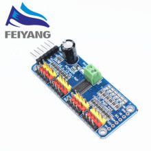 1pc PCA9685 16-Channel 12-bit PWM Servo motor Driver I2C Module For Arduino Robot
