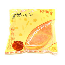 2017 New 15CM Kiibru Squishy Hanamaki Bread Slow Rising Jumbo Pink Bread Color Kids Toy Gift Collection
