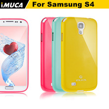 for samsung galaxy s4 case imuca soft tpu cover case for Samsung Galaxy S4 i9500 i9505 mobile phone accessories&bag(China)
