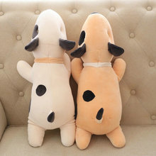 55cm Cute Cow Plush Toys Stuffed Soft comfy plush pillow Cushion pacify Doll For Children Wholesale baby doll white/brown