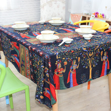 Arrival Tablecloth for Dinner Sign Style High Quality Lace Cloth Bohemia Style Decorative Phuket Table Cloth Style Table Cloth