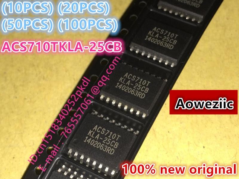 (10PCS) (20PCS) (50PCS) (100PCS) 100% New original ACS710TKLA-25CB ACS710T SOP16 current sensor IC chip<br>