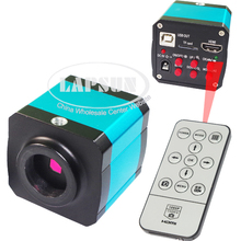 14MP 1080P CMOS HDMI HD USB Output Industry Lab PCB Soldering Microscope Camera C-mount Lens TF Card Video Recorder DVR