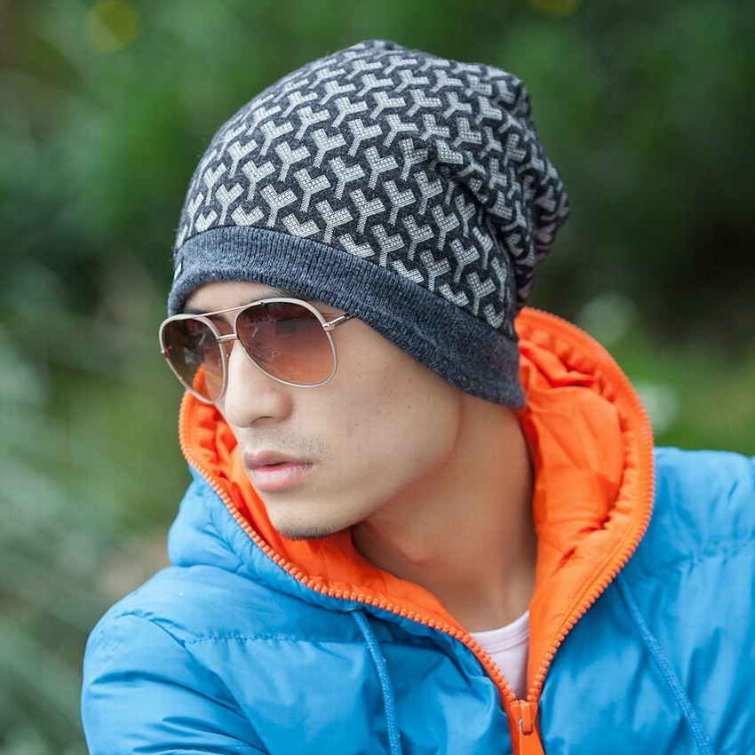 Hat tidal current male cap autumn and winter casual cap turban hip-hop hiphop toe cap covering cap outdoor sport beanies male Одежда и ак�е��уары<br><br><br>Aliexpress