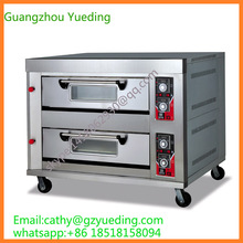 Stainless steel bakery oven / 2 decks bakery gas oven /Automatic bakery gas electric bread baking oven(China)