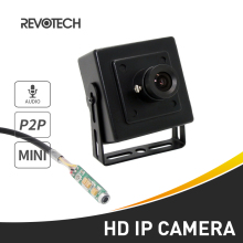 Audio Mini Type HD 720P / 1080P IP Camera 1.0MP / 2.0MP Metal Indoor Security Camera ONVIF P2P IP CCTV Cam(China)