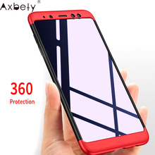 Buy AXBETY Coque sFor samsung a8 Plus 2018 Case 360 Full Body Hard Hybrid Plastic Protection Cases samsung galaxy A8 2018 cover for $2.69 in AliExpress store