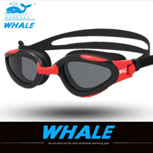 Buy Whale brand Adult Non Fogging HD anti-fog Anti-UV Soft Silicone Professional Swimming Goggles Swim Sport Glasses eyewear 2018 for $12.49 in AliExpress store
