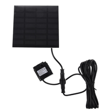 MYLB-Brushless DC Solar Water Pump Power Panel Kit Fountain Pool Garden Watering Pumb