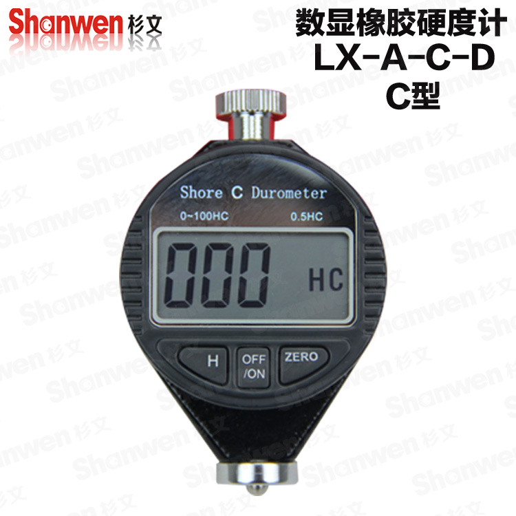 Digital Shore hardness Durometer Digital Hardness Tester Hardness Meter Shore C for Rubber &amp; Plastics (microporous material)<br><br>Aliexpress