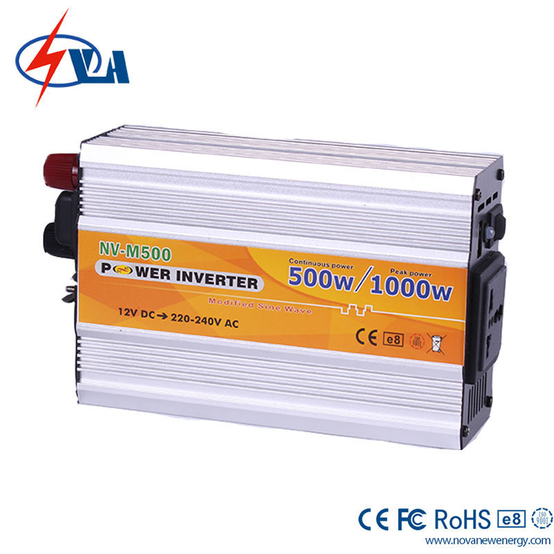 NV-M500 DC 12V TO AC 110V Car Power Inverter 500W Solar Inverter Off Grid Variateur De Frequence China Frequency Inverter(China (Mainland))