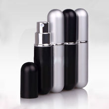 Brand New 1pc Refillable Portable Mini perfume bottle&Traveler Aluminum Spray Atomizer Empty Parfum Bottle(China)