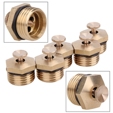 5 Pcs 360 Degrss Garden Sprinkle Connector Thread Water Sprinkler Irrigation Spray Nozzle Watering Head Brass Supplies