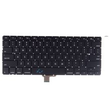 100% New For MacBook Pro Unibody 13'' A1278 Keyboard US Layout Keyboard 2009-2012 MD313 MD101(China)