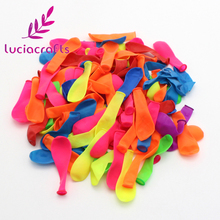 Lucia Craft 1pack/lot(120pcs) Colorful small Balloons inflatable Balloons for Party Children's game balloon 059003027