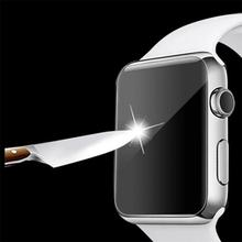 2Pcs Ultra Thin 9H HD Tempered Glass Film Screen Protector Guard For Apple Watch 38mm