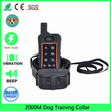 Electric Dog Shock Electronic Training Collar,waterproof And Rechargeable 3 Models Remote Training Dog Shock Collar For Humans