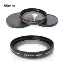 2016 ZOMEI Ultra Slim UV72 55mm 0.45x Wide Angle Filter Lens for Nikon Canon SLR Camera(China)