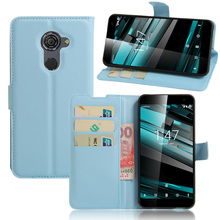 "New Stand Wallet Flip PU Leather Protective Cover For Vodafone Smart Platinum 7 5.5""Phone Cases With Credit Card Holder Case Bag(China)"