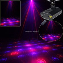 High Quality Mini Red Blue Laser 12 Patterns Xmas Projector Dance Disco Bar Family Party Stage Lights DJ lighting Light Show T14(China)