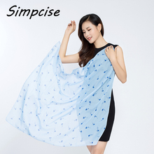 [Simpcise] 100% Polyester New Fashion Neckerchief Woman Square Scarf Small Scarves Summer 90*90cm P9A99012(China)